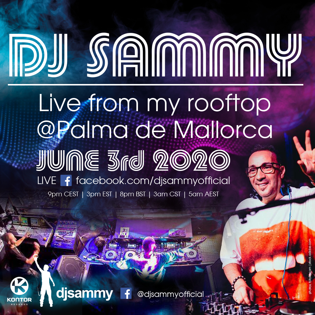 banner DJsammy instagram post 1080x1080px